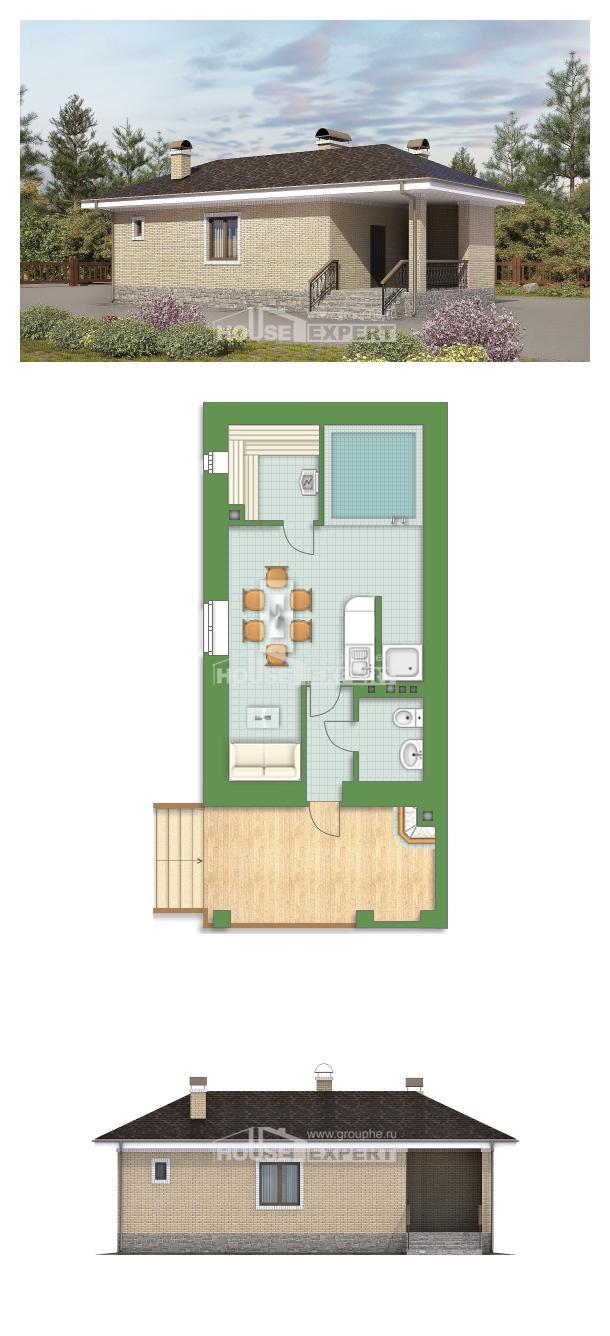 Проект дома 040-002-П   House Expert