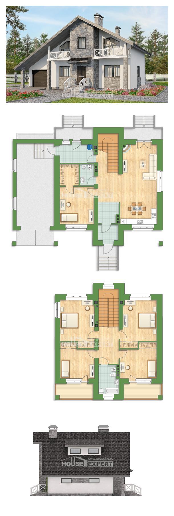 Проект дома 180-017-Л   House Expert