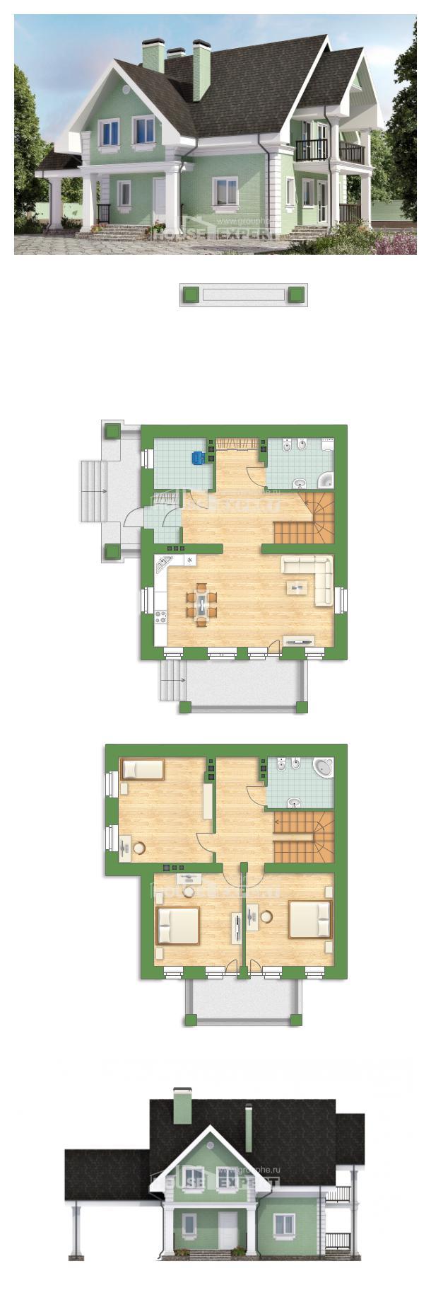 Проект дома 140-003-Л   House Expert